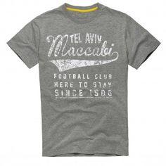 חולצת טי Here to Stay | מוצרים | החנות הרשמית של מועדון הכדורגל מכבי תל אביב