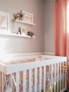 Baby girl's nursery.