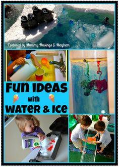 Weekly Kid's Co-Op Water & Ice Play