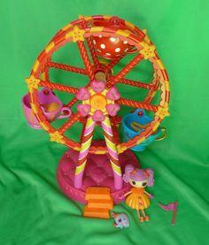 Lalaloopsy Doll Peanut Big Top Mini Circus w/ pet elephant Ferris Wheel Playset #Lalaloopsy Big Top, Lalaloopsy, Ferris Wheel, Kids Toys, Elephant, Dolls, Christmas Ornaments, Games, Pets