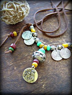 Boho Necklace  Hippie Necklace  Virgin Mary by HandcraftedYoga, $46.00