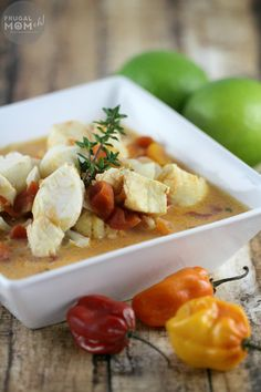 """This coconut poached cod is inspired by Jamaican """"Rundown"""" - Thai Kitchen Coconut Milk makes this recipe quick and easy-to-make. #TKEveryday"""