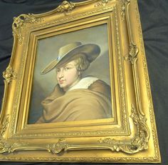 Christian Kramm (1797 - 1875) original oil painting, Netherlands painted in 1874 #Realism
