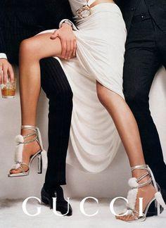 Retrospective: Gucci (by Tom Ford) Ads F/W 04/05 by Mario Testino #ad #Gucci