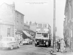 The junction of Icknield Port Road, Wood Street and Monument Road in Ladywood in 1963.