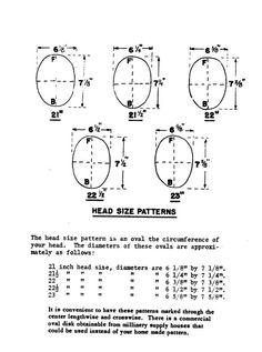 1953 Chapellerie livre chapeau faisant faire par schmetterlingtag