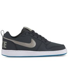 promo code ce67d ba910 Nike Men s Court Borough Low Premium Casual Sneakers from Finish Line Men -  Finish Line Athletic Shoes - Macy s