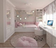 Teenage Girls Bedroom Ideas is part of Dream rooms - Every young girl dreams of a uniquely personal space to call her own, yet nailing down a durable search for a teenage girl's bedroom can be a particularly troublesome undertaking Room Inspiration, Bedroom Themes, Cute Bedroom Ideas, Girl Bedroom Decor, Girls Room Decor, Bedroom Decor, Daybed With Storage, Bedroom Design, Room Interior