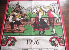 july 4th 1996 calendar