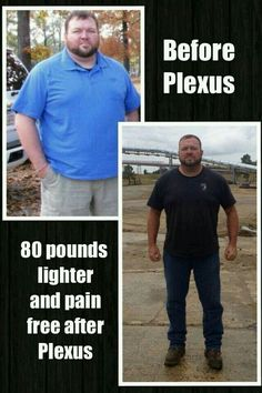 80 pounds lighter and pain free after Plexus Slim & Ease! Weight loss is great. Real men drink pink.