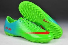 brand new 6087d 86cb5 2014 World Cup Nike Mercurial Veloce TF Boots Green Red Blue 98 Edition  2013 Soccer Cleats
