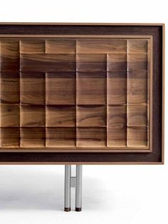 Wooden sideboard with doors A-113 | Sideboard - Dale Italia