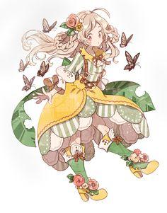Cute Art Drawing Anime