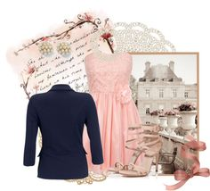"""pretty in pink"" by becalicious on Polyvore"