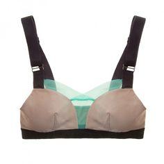 Buy VPL luxury lingerie - VPL Stripe B Bra | Journelle Fine Lingerie