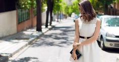 Una idea para vestir en un evento de día, ¿qué os parece?