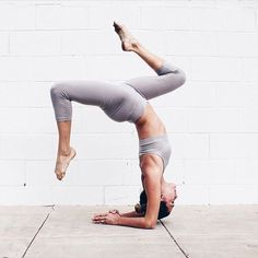 yoga poses and inspiration. Get upside down!