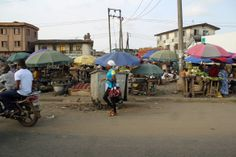 Roadside Market   Lagos