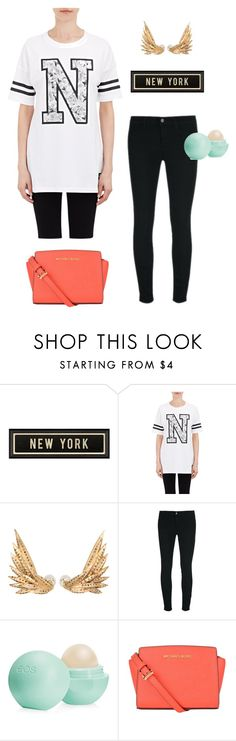 """""""Untitled #50"""" by sarah-tav ❤ liked on Polyvore featuring Spicher and Company, NIKE, Jessica Robinson, J Brand, Eos and MICHAEL Michael Kors"""