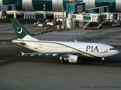 PIA Pakistan International Airlines Airbus A310-300 AP-BGO