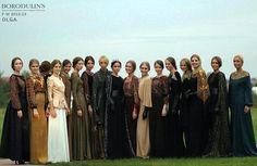 Невероятно красивые наряды, И девушки красавицы