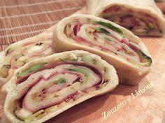 ROTOLO+di+PIZZA+FARCITO+|+ricetta+veloce
