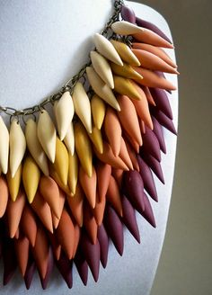 Items similar to Dulce de Leche Necklace on Etsy