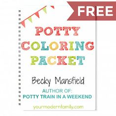Potty Training Coloring book LP
