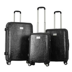 Gabbiano The Urban Collection 3-piece Hardside Spinner Set