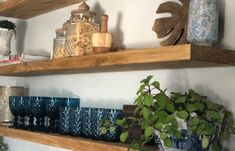 4f452b41-d55f-4bd8-8b8d-44c3ecd110ab Navy And White, Floating Shelves, Heart, Kitchen, Projects, Home Decor, Log Projects, Cooking, Blue Prints