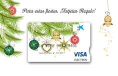 Tarjeta con diseño Navidad  Árbol. El mejor regalo para estas Navidades. Compra una tarjeta y recárgala con la cantidad que desees regalar.  ¡Tenemos hasta 7 exclusivos diseños!