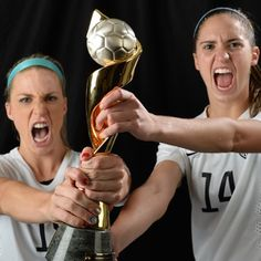 #USWNT ~Be careful...Don't break it!