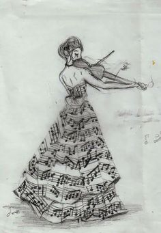 Partittura, Musica, Violino, - Autor desconhecido