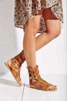 Bed Stu Aurelia Tall Huarache Sandal - Urban Outfitters