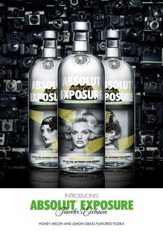 ABSOLUT Vodka Introduces New Limited Edition ABSOLUT EXPOSURE - October 2012