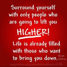 Oprah quote (Life is also filled with brown nosers and hypocrites who tell themselves they are just being polite.)