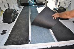 Ford Van ConversionSteps To Insulating The Floor
