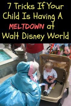 We all want to think our children will behave on our vacation. But sometimes the constant go, go, go of a Disney vacation can result in a meltdown.It happens to the best of us, even adults can have meltdowns at Disney! #1 is the best way to calm my kids down!