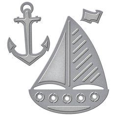 Spellbinders - D-Lites Die - Nautical
