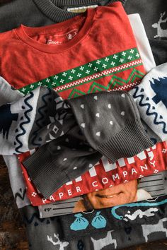 Fun holiday shirts // see if your store has your style for that ugly sweater day, just click to shop your local store from online | Buckle Holiday Style, Holiday Fashion, Holiday Fun, Ugly Sweater Day, Winter Wonderland, Christmas Sweaters, Your Style, Store, Shirts