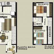 Resultado de imagem para modelo de casas modernas pequena de dois pavimentos Floor Plans, Top, Tiny Home Designs, Minimalist House, Blue Prints, Lower House, Home Plans, Crop Tee, Floor Plan Drawing