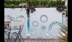 Tor Design, Gate Design, House Design, Outdoor Pergola, Outdoor Walls, Outdoor Decor, Pot Lights, Decoration Plante, Fence Art