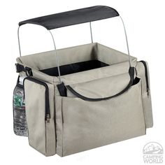 Pet Bike Basket and Carrier with Sunshade - ETNA 4681 - Pet Carriers - Camping World