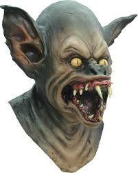 mascara de monstro