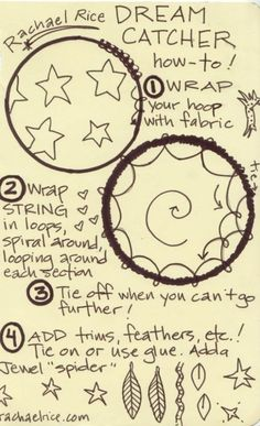 A simple explanation on how to make a Dream Catcher!! Always wanted to make one! They are so cool! You can personalize it the way you want it to be, So be creative!!