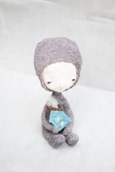 Custom art doll par Elze sur Etsy