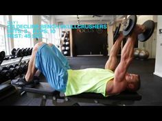 Trim in Six Day One: Chest, Shoulders, and Triceps - YouTube