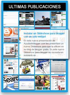 Widgets para blogger Mega widget V2 - Widgets y Plugins para Blogger