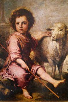Niño Jesús del corderito Bartolomé Esteban Murillo, Museo del Prado, Madrid