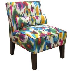 Splash of Color Side Chair! I love it #color #love #side_chair